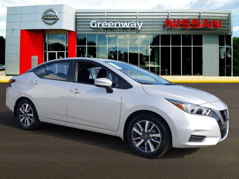New 2020 Nissan Versa Sedan SV FWD 4dr Car